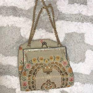 Mister Ernest Italy vintage tapestry bag